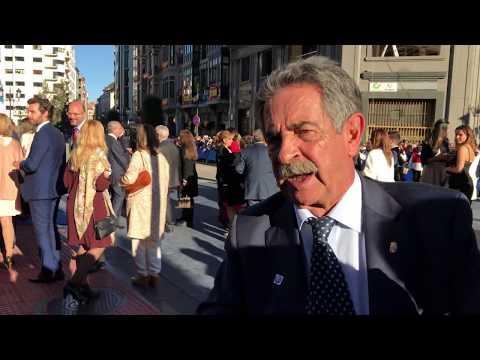 Miguel Ángel Revilla en los Premios Princesa de Asturias 2017