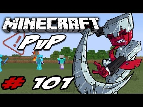 Minecraft PvP Series: Episode 101 - Killing Hackers!