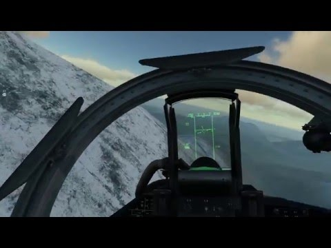 DCS 1.5 SU-27 Awesome AIM-120 AMRAAM dodge and merge