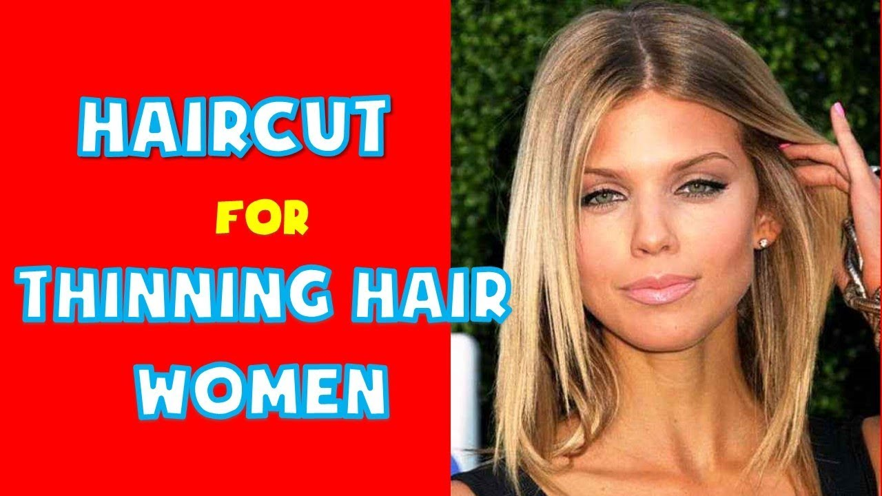 Haircut For Thinning Hair Womenbest Hairstyles For Thin Hair Ladies