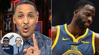 Draymond maybe benched by Warriors to keep Kevin Durant happy - Ryan Hollins | Jalen & Jacoby