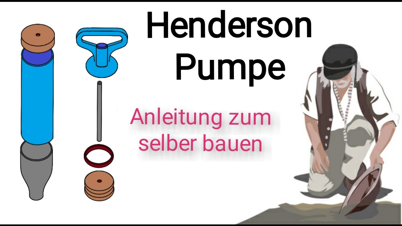 diy henderson pumpe eine anleitung goldwaschen in deutschland youtube. Black Bedroom Furniture Sets. Home Design Ideas