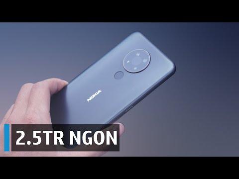 Đánh giá nhanh Nokia 5.4: 2.5 TR NGON NHẤT?