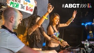 "#ABGT100: Pushing The Button at Madison Square Garden - Above & Beyond ""Blue Sky Action"" Resimi"