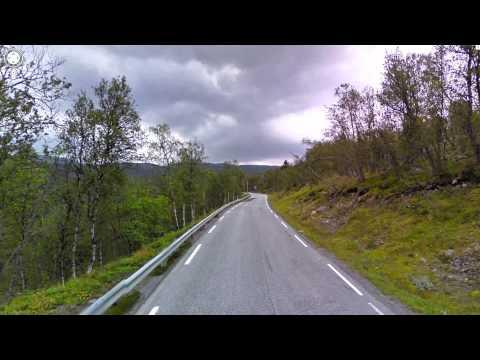 Bergen to Oslo Hyperlapse