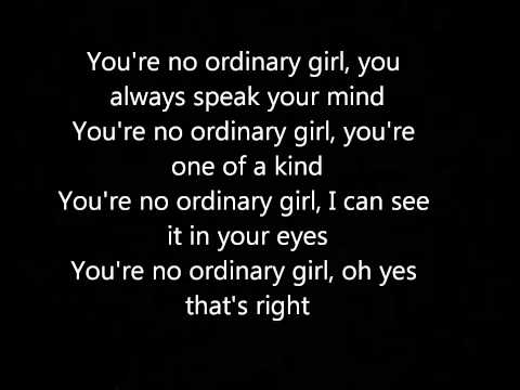 Rebelution-Ordinary Girl+Lyrics
