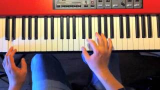 Piano improvisation exercise in C (with easy left hand!)