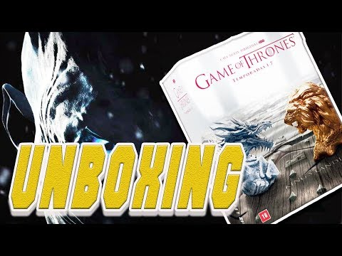 Unboxing #16 - DVD Game Of Thrones (Box Completo)