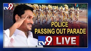 Police Passing Out Parade 2019 LIVE || CM Jagan attends Police Passing Out Parade - TV9
