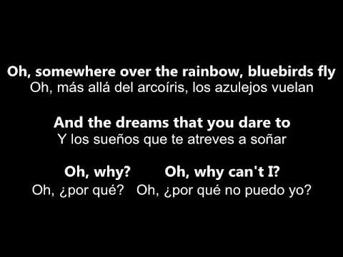 ♥ Over The Rainbow / What A Wonderful World ♥~ Por Israel Kamakawiwo'ole - Letra En Inglés Y Español