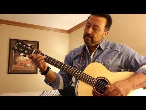 Blue Moon. On a Hayes Concert Guitar. Based on an arr.  by T. Emmanuel.
