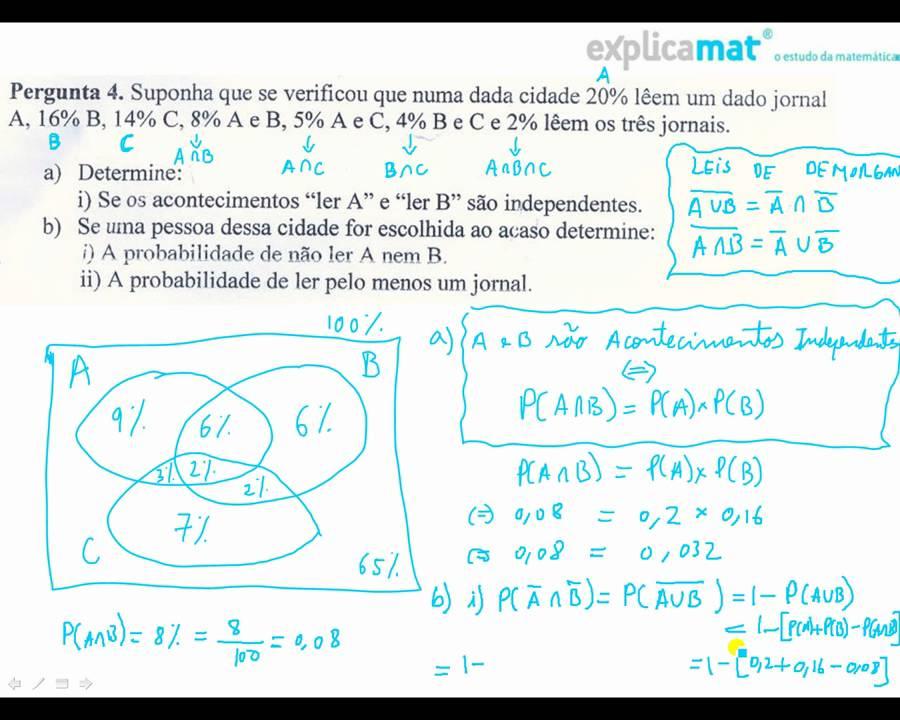 Diagrama de ven probabilidades exerccio parte 1 youtube diagrama de ven probabilidades exerccio parte 1 ccuart Choice Image