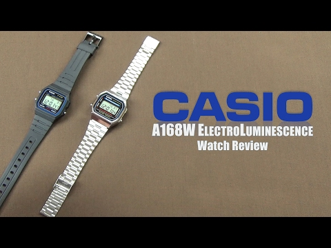 Casio A168W Digital Quartz Watch