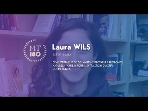 Laura WILS - Ma Thèse en 180 secondes 2020