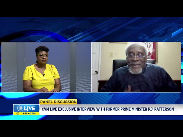 Exclusive Interview with former Prime Minister, PJ Patterson | Panel Discussion | CVMTV