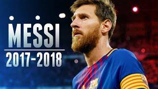 ليونيل ميسي هل كان يستحق الكرة الذهبية - مهارات واهداف اسطورية 2017-2018 HD
