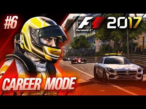 F1 2017 Career Mode Part 6: Monaco Grand Prix