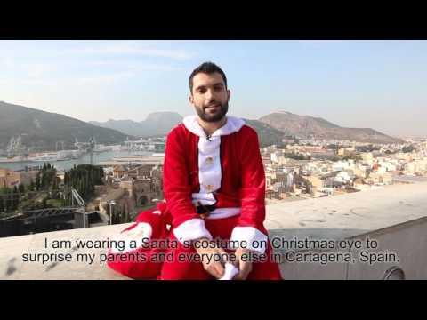 Jorge vuelve a casa por Navidad 2015