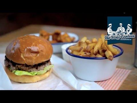 Scotch Beef burger and smoked bone marrow recipe