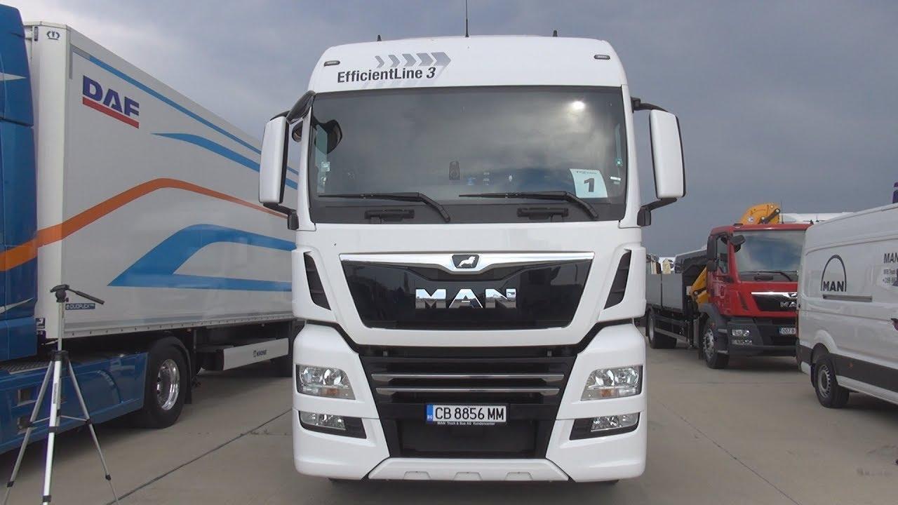 MAN TGX 18 500 4x2 BLS EfficientLine 3 Tractor Truck (2018) Exterior and  Interior