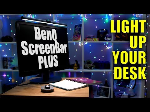benq-screenbar-plus-lamp:-light-up-your-desk,-not-your-display!