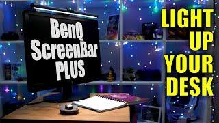 BenQ ScreenBar Plus Lamp: Light up your desk, not your display!