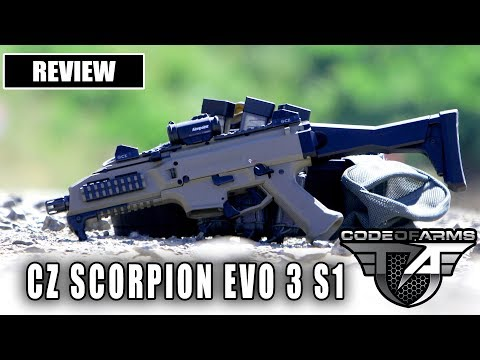 CODE OF ARMS: CZ Scorpion EVO 3 S1 REVIEW