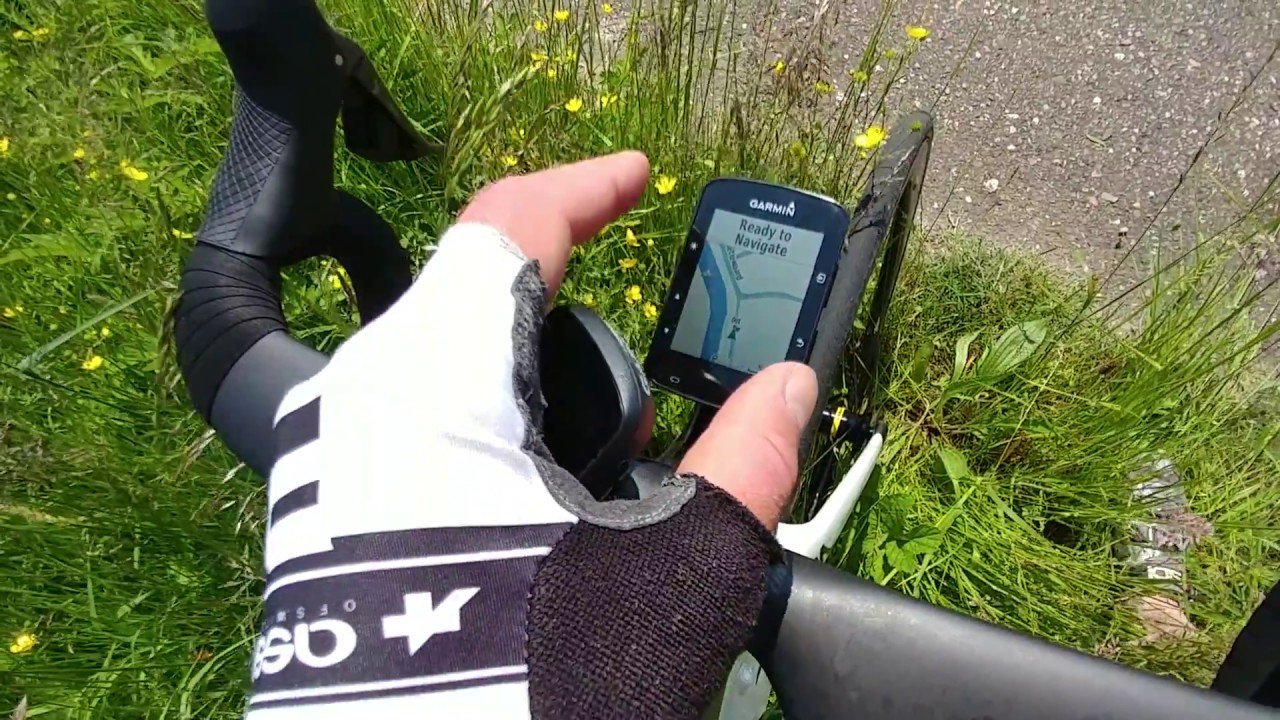 Garmin Edge 520Plus vs 130 (and 820 and 520) Comparison Navigation and  Functions!
