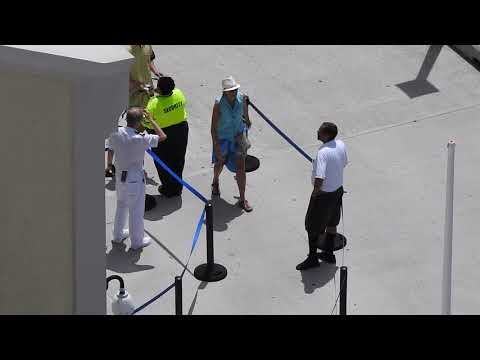 J.R. - An Entire Cruise Ship Cheered Late Passengers Holding Up Their Departure