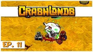 Crashlands - Ep. 11 - Killing a Womplord! - Let's Play Crashlands Gameplay