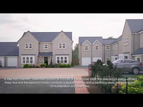 Miller Homes - Holme View, Scholes, Holmfirth - CGI Development Video