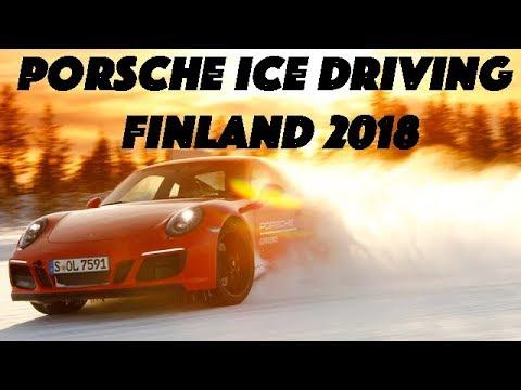 Porsche Finland Ice Driving 2018