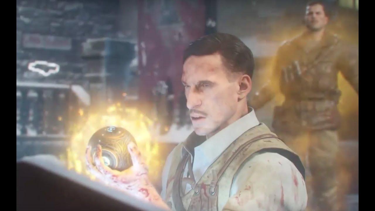 Der Eisendrache Easter Egg (2 player - Full Game recording)