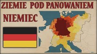 Ziemie pod panowaniem Niemiec latami, na mapach - Historia na Szybko