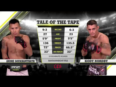 Fight of the Week: An EPIC Grudge Match Ends in EPIC Fashion at CES MMA 33