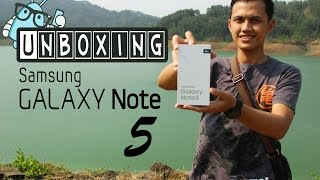 Unboxing Samsung Galaxy Note 5 Indonesia