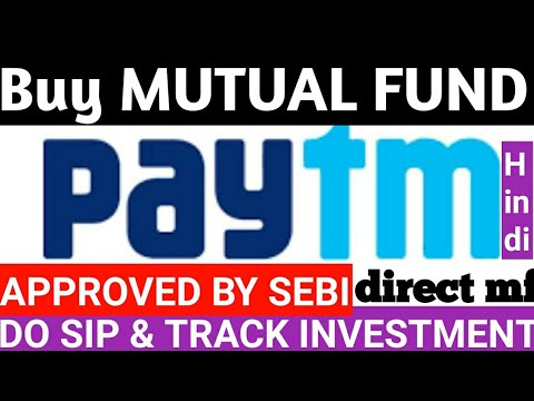 Mutual Funds purchase from paytm
