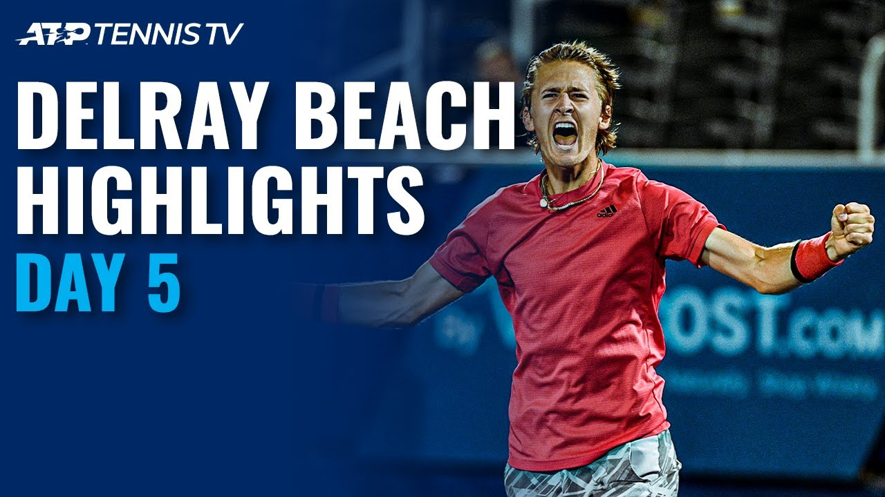 Korda Ousts Isner; Harrison Continues Dream Run | Delray Beach 2021 Quarter-Final Highlights