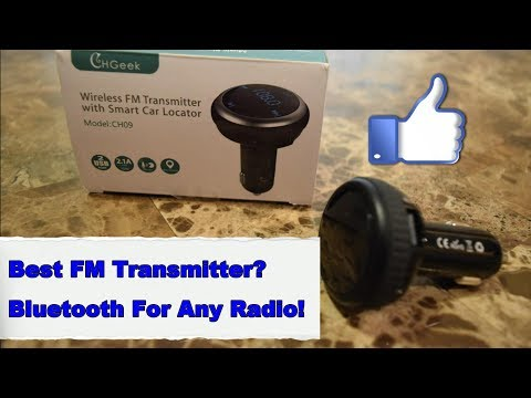 Best Bluetooth FM Transmitter - Wireless Audio For Any Car!
