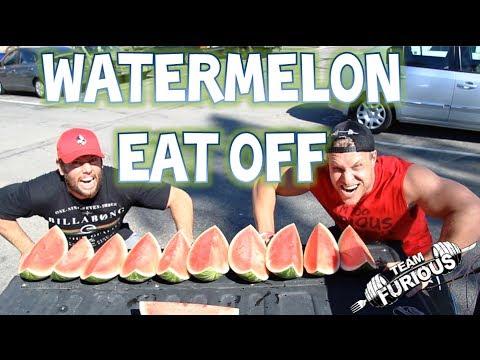 watermelon-eat-off-vs-shaycarl!