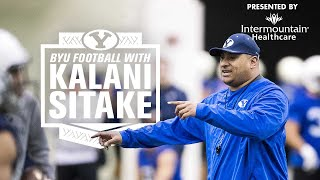 BYU Football with Kalani Sitake - November 19, 2019