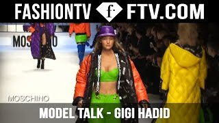 Gigi Hadid Model Talks FW 15/16 | FashionTV