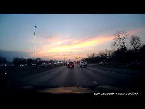 Drive To Baylor University Medical Center Via I-30 Exit First Ave In Dallas TX