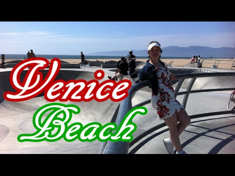 "Venice beach + Hollywood - Best of Los Angeles, California - ""Visiting Places Series"""