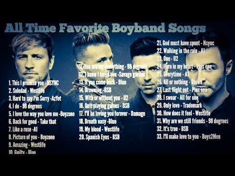 Boy Band Playlist