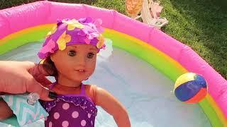 Bebeğime Banyo Yaptırıyorum Baby Doll Bathroom for American Girl Dolls OurgenerationBidünya Oyuncak