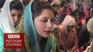 В Пакистане женщин рекомендуют бить не очень сильно