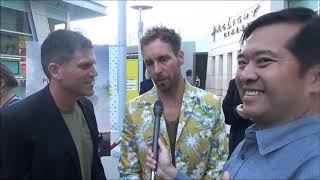 The Peanut Butter Falcon: Directors Tyler Nilson And Michael Schwartz Red Carpet Interview
