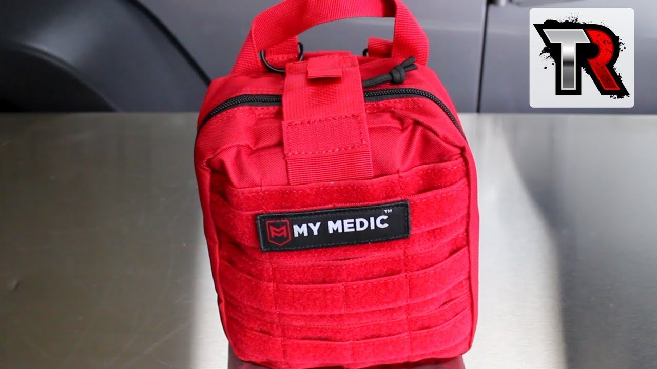 my medic myfak - first aid kit review - youtube