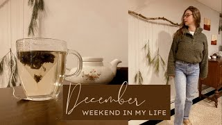 December Weekend In My Life: Christmas Lights, Wrapping Presents, and Quality Time